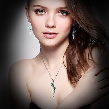 Naszyjniki z wisiorkami Kryształ Kryształ Wiszący Podstawowy Biżuteria Na Codzienny Casual