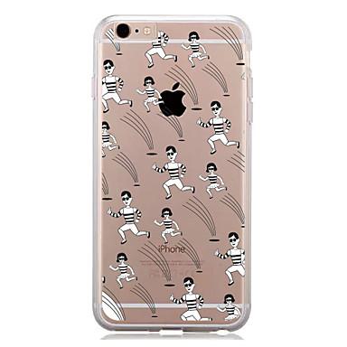 Για Με σχέδια tok Πίσω Κάλυμμα tok Πλακίδια Μαλακή TPU για AppleiPhone 7 Plus iPhone 7 iPhone 6s Plus/6 Plus iPhone 6s/6 iPhone SE/5s/5