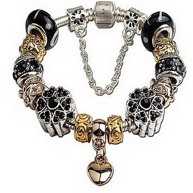 Bransoletki i łańcuszki na rękę Natura Modny Kryształ Inne Serce Biżuteria Impreza Urodziny