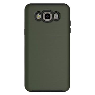 Etui Käyttötarkoitus Samsung Galaxy J7 Prime J5 Prime Iskunkestävä Takakuori Yhtenäinen väri Kova PC varten J7 (2016) J7 Prime J5 Prime