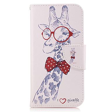 tok Για Samsung Galaxy A5(2017) A3(2017) Θήκη καρτών Πορτοφόλι με βάση στήριξης Ανοιγόμενη Πλήρης Θήκη Ζώο Σκληρή PU δέρμα για A3 (2017)