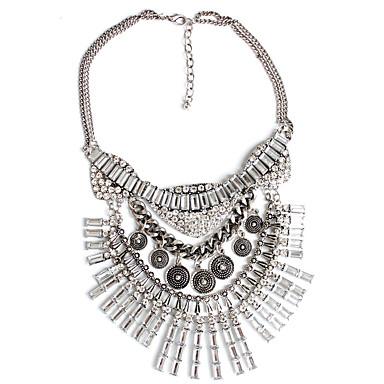 Dame Coliere cu Pandativ Bijuterii Aliaj Bijuterii Geometric La modă Euramerican Argintiu Bijuterii Petrecere Ocazie specială Logodnă1