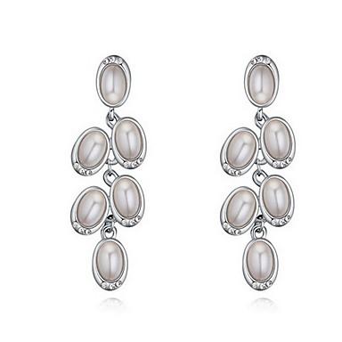 Γυναικεία Κουμπωτά Σκουλαρίκια Μαργαριταρένια Φύση Μοντέρνα Μαργαριτάρι Κράμα Cross Shape Κοσμήματα Κοσμήματα Για Καθημερινά
