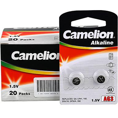 Camelion ag3 kolikon nappiparistolla alkaliparisto 1.5V 40 pack