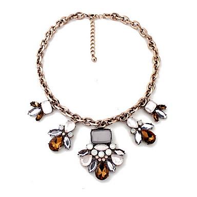 Γυναικεία Κολιέ Δήλωση Κοσμήματα Κοσμήματα Συνθετικοί πολύτιμοι λίθοι Κράμα Μοντέρνα Εξατομικευόμενο Euramerican κοσμήματα πολυτελείας