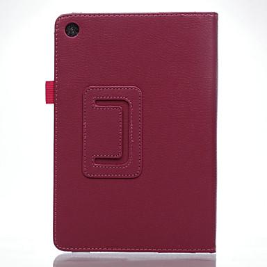 Skóra PU Solid Color Przypadki tablet Asus / 8