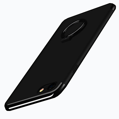غطاء من أجل Apple iPhone 7 Plus iPhone 7 حامل الخاتم غطاء خلفي لون الصلبة ناعم TPU إلى iPhone 7 Plus iPhone 7 iPhone 6s Plus ايفون 6s