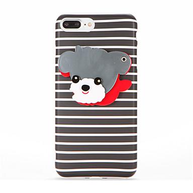Pentru IMD Oglindă Reparații Maska Carcasă Spate Maska Câțel Moale TPU pentru AppleiPhone 7 Plus iPhone 7 iPhone 6s Plus iPhone 6 Plus