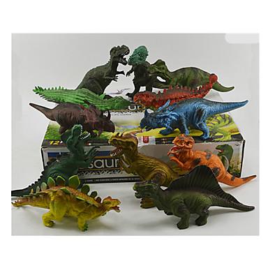 Smoki i dinozaury Model Bina Kitleri Zabawki Figury dinozaurów Tyrannosaurus Velociraptor Dinozaur Jurajski Triceratops Dinozaur