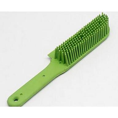 قط كلب الاستمالة التنظيف أمشاط المحمول أخضر