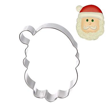Εργαλεία ψησίματος Ανοξείδωτο Ατσάλι Χριστούγεννα / Φτιάξτο Μόνος Σου Κέικ / Σοκολατί / για Candy Καλούπια τούρτας / Κουπ-πατ Μπισκότων 1pc