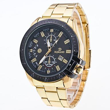Bărbați Ceas de Mână Ceas Elegant  Ceas La Modă Ceas Sport Quartz Mare Dial Aliaj Bandă Charm Multicolor