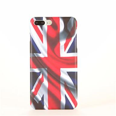 Kılıf Na Apple iPhone 7 Plus iPhone 7 Wzór Czarne etui Flaga Twarde PC na iPhone 7 Plus iPhone 7 iPhone 6s Plus iPhone 6s iPhone 6 Plus