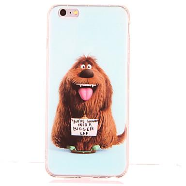 Varten Iskunkestävä Kuvio Etui Takakuori Etui Koira Pehmeä TPU varten AppleiPhone 6s Plus iPhone 6 Plus iPhone 6s iPhone 6 iPhone SE/5s
