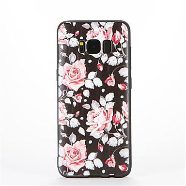 Για Με σχέδια tok Πίσω Κάλυμμα tok Λουλούδι Μαλακή TPU για Samsung S8