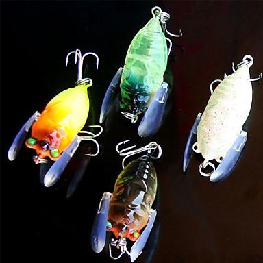 5 جهاز كمبيوتر شخصى خدع الصيد (المنوة) سمك اوروبي ز / أوقية mm بوصة, بلاستيك الصيد العام