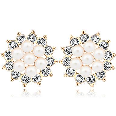 Γυναικεία Κουμπωτά Σκουλαρίκια Κρυστάλλινο Λατρευτός Εξατομικευόμενο Euramerican Κοσμήματα Για Γάμου Πάρτι Γενέθλια
