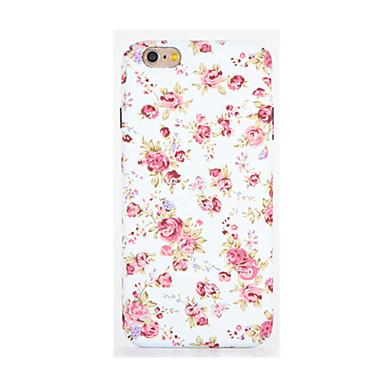 Pouzdro Uyumluluk Apple iPhone 7 Plus iPhone 7 Karanlıkta Parlayan Temalı Süslü Arka Kapak Çiçek Yumuşak TPU için iPhone 7 Plus iPhone 7