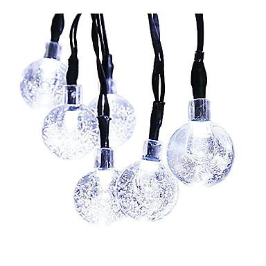 GMY® 6m Łańsuchy świetlne 30pcs Diody LED Biały Akumulator Wodoodporne <5V