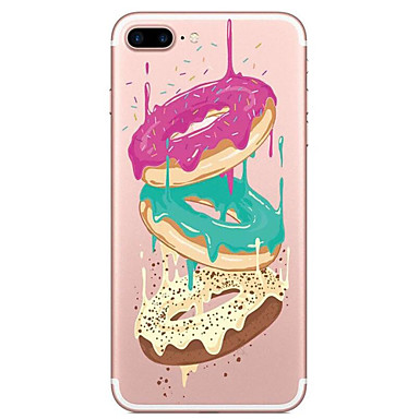 Na Przezroczyste Wzór Kılıf Etui na tył Kılıf Jedzenie Miękkie TPU na AppleiPhone 7 Plus iPhone 7 iPhone 6s Plus iPhone 6 Plus iPhone 6s