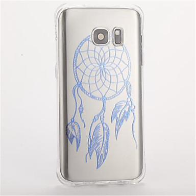 غطاء من أجل Samsung Galaxy S7 edge S7 ضد الصدمات نموذج غطاء خلفي ملاحق الأحلام ناعم TPU إلى S7 edge S7 S6 S5