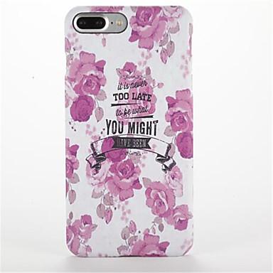 إلى مثلج نموذج غطاء غطاء خلفي غطاء زهور قاسي PC إلى Apple فون 7 زائد فون 7 iPhone 6s Plus iPhone 6 Plus iPhone 6s أيفون 6