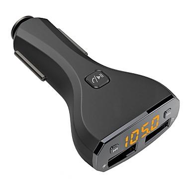 Laturisetti Auton USB- latauspistoke Toinen 2 USB-portti Vain laturi Auto 5V/2,4A