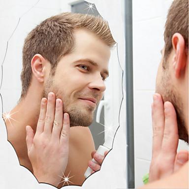 Oglinzi Modă Perete Postituri Acțibilduri de Oglindă Autocolante de Perete Decorative,Vinil Pagina de decorare de perete Decal Perete
