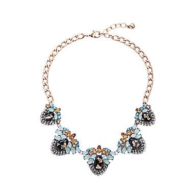 Kadın's Tellerinin Kolye Flower Shape Eşsiz Tasarım Moda Mücevher Uyumluluk Düğün
