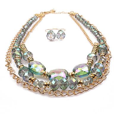 للمرأة مجموعة مجوهرات - euramerican في تتضمن أخضر من أجل زفاف / حزب / مناسبة خاصة