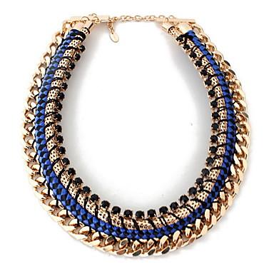 Pentru femei Coliere Bijuterii Piatră Preţioasă Aliaj Bijuterii Natură Euramerican Personalizat Negru Albastru Închis BijuteriiPetrecere