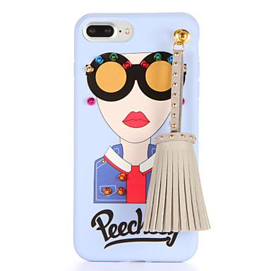Για Φτιάξτο Μόνος Σου tok Πίσω Κάλυμμα tok Σέξι κυρία Μαλακή TPU για AppleiPhone 7 Plus iPhone 7 iPhone 6s Plus iPhone 6 Plus iPhone 6s