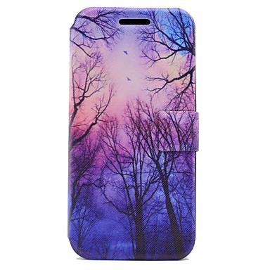 Kılıf Na Samsung Galaxy A5(2017) A3(2017) Etui na karty Z podpórką Flip Magnetyczne Wzór Pełne etui Drzewo Twarde Skóra PU na A3 (2017)