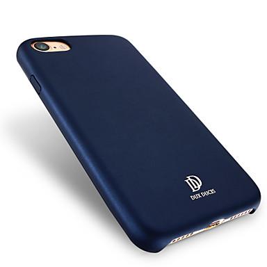 إلى ضد الغبار IMD غطاء غطاء خلفي غطاء لون صلب قاسي جلد اصطناعي إلى Apple فون 7 زائد فون 7 iPhone 6s Plus iPhone 6 Plus iPhone 6s أيفون 6