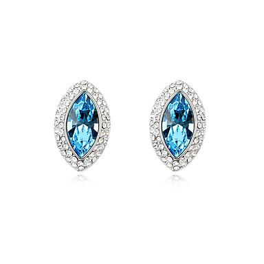 Kadın's Vidali Küpeler Kristal Kişiselleştirilmiş Eşsiz Tasarım Euramerican Mücevher Uyumluluk Düğün Parti Doğumgünü