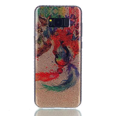 Maska Pentru Samsung Galaxy S8 Plus S8 IMD Model Carcasă Spate Animal Luciu Strălucire Prinzător de vise Greu PC pentru S8 S8 Plus S7