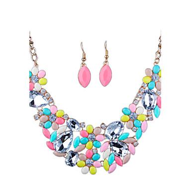 Pentru femei Seturi de bijuterii Ștras Diamante Artificiale Aliaj Altele Lux Euramerican Modă Nuntă Petrecere Zilnic Casual Σκουλαρίκια