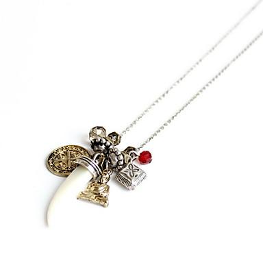 Damskie Naszyjniki z wisiorkami Biżuteria Biżuteria Kamień szlachetny Stop Wiszący Natura Osobiste euroamerykańskiej Gold Biżuteria Na