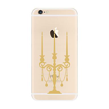 tok Για Apple iPhone X iPhone 8 Plus Διαφανής Με σχέδια Πίσω Κάλυμμα Άλλα Μαλακή TPU για iPhone X iPhone 8 Plus iPhone 8 iPhone 7 Plus