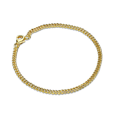 Damskie Dla dziewczynek Kryształ Pozłacane Bransoletki i łańcuszki na rękę - Przyjaźń Modny Geometric Shape Gold Bransoletki Na Prezenty