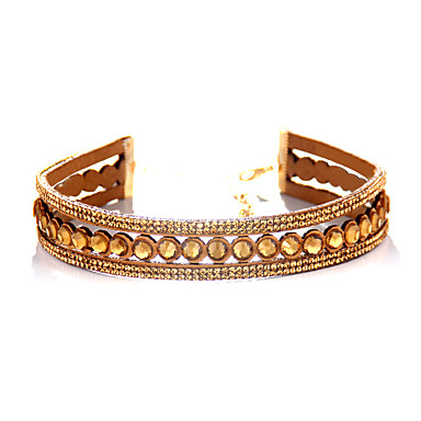 Pentru femei Coliere Choker Bijuterii Bijuterii Pietre sintetice Aliaj Personalizat Euramerican Bijuterii Pentru Zilnic Casual