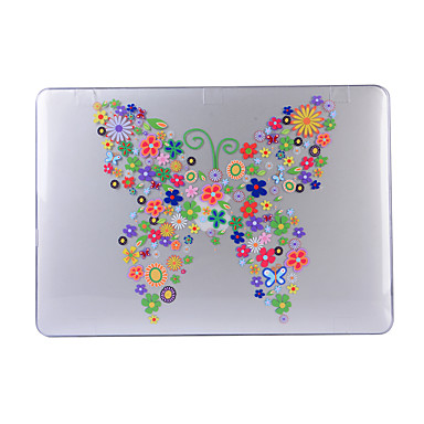 MacBook Kotelo varten Kukka Muovi MacBook Air 13-tuumainen MacBook Pro 13-tuumainen MacBook Air 11-tuumainen MacBook Pro 13-tuumainen