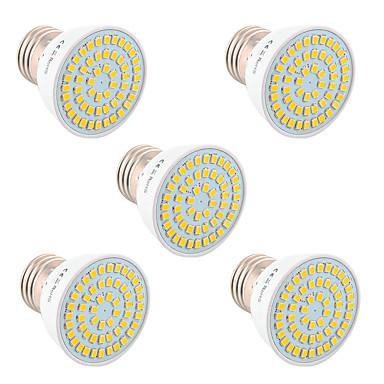 5W GU10 GU5.3(MR16) E26/E27 LED Σποτάκια 54 leds SMD 2835 Διακοσμητικό Θερμό Λευκό Ψυχρό Λευκό Φυσικό Λευκό 400-500lm