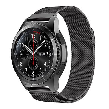 Watch Band na Gear S3 Classic Samsung Galaxy Pasek sportowy Metal Opaska na nadgarstek