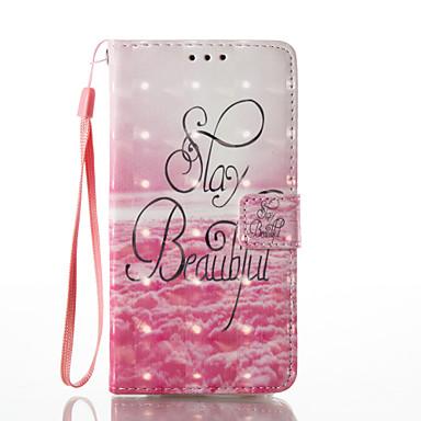 Kılıf Na Samsung Galaxy A5(2017) A3(2017) Portfel Etui na karty Z podpórką Flip Wzór Magnetyczne Futerał Napis Twarde Sztuczna skóra na