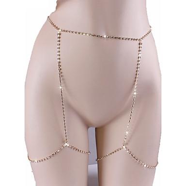 Kadın Vücut Mücevheri Vücut Zinciri / Belly Chain Doğa Moda Bohemia Stili alaşım Mücevher Uyumluluk Özel Anlar Günlük