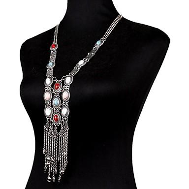 Kadın Vücut Mücevheri Vücut Zinciri / Belly Chain Doğa Moda Bohemia Stili Değerli Taş alaşım Mücevher Uyumluluk Özel Anlar Günlük