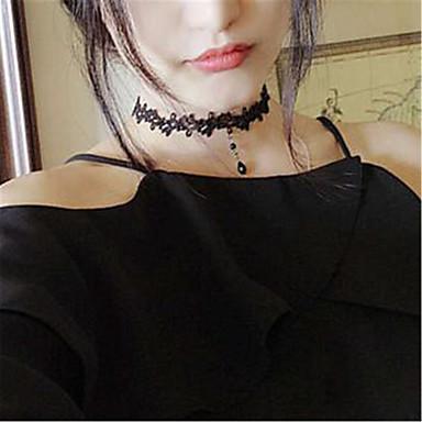 Sweet Lolita Kolye Eski Tiplerden Esinlenilmiş Lolita Aksesuarları Solid Kolye Polyester Metal