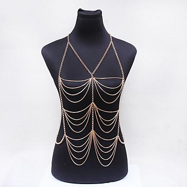 Dame Bijuterii de corp Corp lanț / burtă lanț Natură La modă Bohemia Stil Cristal Aliaj Bijuterii Pentru Ocazie specială Casual