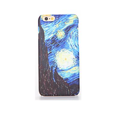 Pouzdro Uyumluluk iPhone 7 Plus iPhone 7 iPhone 6s Plus iPhone 6 Plus iPhone 6s iPhone 6 Apple Buzlu Temalı Arka Kapak Gökyüzü Manzara